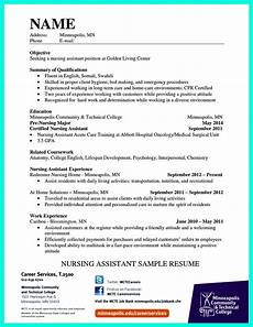 Certified Nursing Assistant Duties Resume Impress The Employer With Great Certified Nursing