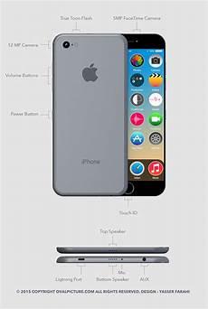 4th Design Iphone 7 Beautiful New Apple Iphone 7 Concept Design Specs