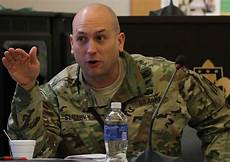 Navy Intelligence Officer First Army Hosts Military Intelligence Security