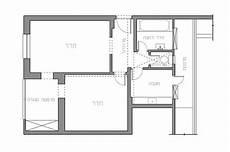 Bachelor Apartment Floor Plan Small Apartment In Tel Aviv Gets A Trendy Modern Makeover