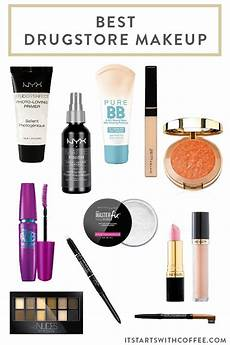 best drugstore makeup it starts with coffee by