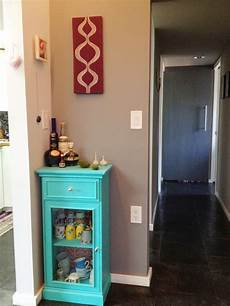 lena sekine mini curio cabinet makeover