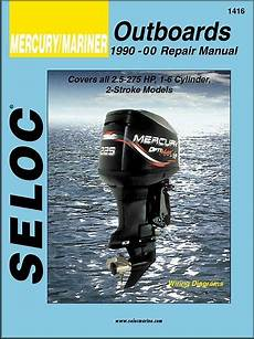Mercury Mariner 2 5 275 Hp Outboard Motor Repair Manual