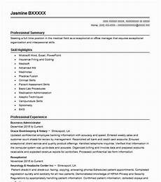 Business Resume Objective Business Administrator Objectives Resume Objective