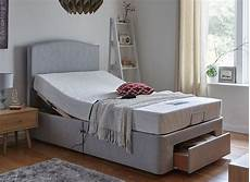 fontwell mattress with standard grey adjustable divan bed