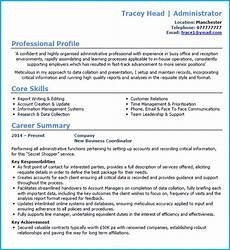 Admin Cv Examples Uk 6 Cv Uk Format Examples Learn How To Create A Winning Cv