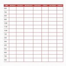 Daily Routine Format Free 24 Printable Daily Schedule Templates In Pdf