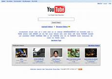 You Tube Web Page Ten Years Of The Youtube Homepage Higgypop