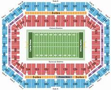 Seating Chart Carrier Dome Football Syracuse Orange Tickets College Football Big East