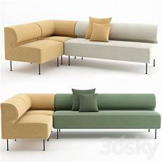 Dining Sofa 3d Image by 3d Models Sofa Eave Dining Sofa By Menu