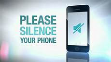 Silence Your Cell Phone Please Silence Your Phone Youtube