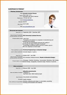 New Style Of Resumes Resume Format New Cv Format Sample Resume Format