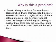 Persuasive Essay On Drunk Driving Driving Project