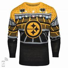Nfl Patriots Light Up Sweater Pittsburgh Steelers Nfl Light Up Bluetooth Sweater
