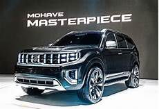 2019 Kia Mohave by 2019 Kia Mohave Masterpiece Concept Top Speed