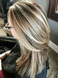 Light Brown Hair With Beige Highlights Beautiful Cool With Beige Brown Hair In 2019