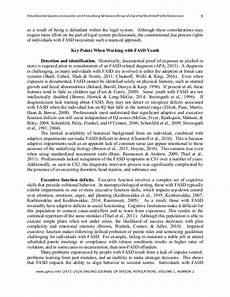 Essay On Alcoholism Fetal Alcohol Syndrome Research Paper In Apa Format Fetal