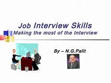 Interview Skills Job Interview Skills