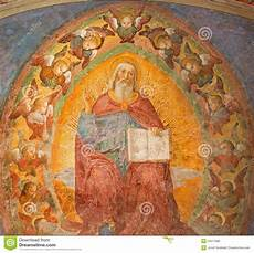 rome the fresco of god the by antoniazzo romano