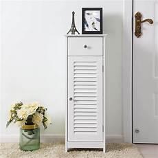 vasagle bathroom floor cabinet storage organizer set with