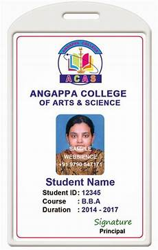 student i card template id card coimbatore ph 97905 47171 college id card