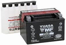 Bikemaster Battery Chart New Yuasa Maintenance Free Battery For The 1994 1999