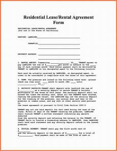 Free House Rental Lease 10 Apartment Rental Agreement Marital Settlements