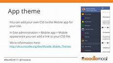 Moodle Mobile Themes Customising The Moodle Mobile Experience