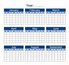 Yearly Calendar Template Word Free 12 Sample Yearly Calendar Templates In Google Docs