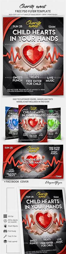 Charity Event Flyer Templates Free Charity Event Free Flyer Psd Template By Elegantflyer