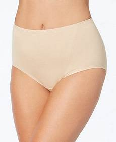 Bali 2 Pack Cotton Light Control Shaping Briefs X037 Bali Light Control One Smooth U Cotton Cool Comfort Brief