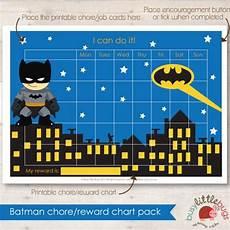 Batman Potty Batman Chore Reward Chart Pack Automatic By Busylittlebugsshop