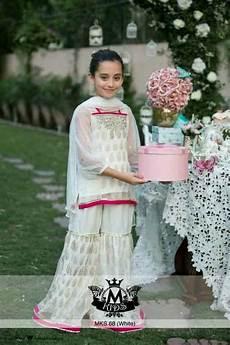 Baby Farooq Design Baby Girls Sharara Dress Designs 2019 For Wedding