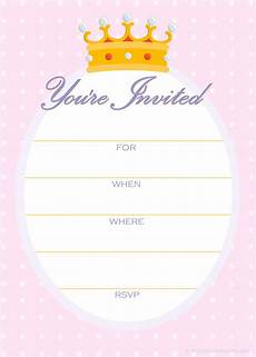 Invitation Outlines Free Printable Golden Unicorn Birthday Invitation Template