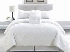 6 cal king melia white comforter set ebay