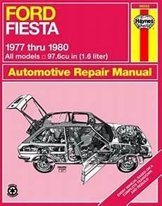 Haynes Repair Manual For Ford Fiesta All Models 1977 Thru 1980