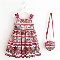 clothes for lids dress with bag 2018 brand toddler summer