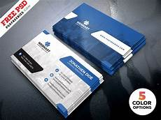 Download Bussines Card Clean Business Card Templates Psd By Psd Freebies On Dribbble
