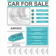 For Sale Templates Car For Sale Flyer