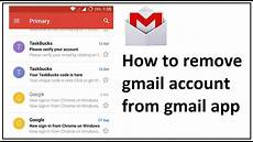 Can You Fax From Gmail How To Remove Gmail Account From Gmail App Youtube