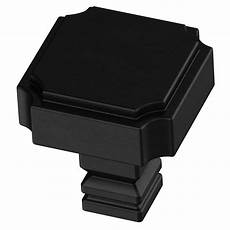 liberty notched 1 1 8 in 28mm flat black square cabinet