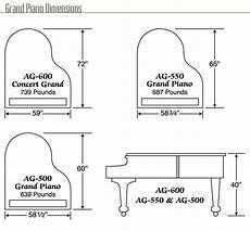 Baby Grand Piano Dimensions Suzuki Acoustic Grand Pianos In 2020 Baby Grand Pianos
