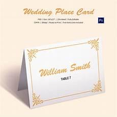 Wedding Place Cards Templates Free 25 Wedding Place Card Templates Free Amp Premium Templates