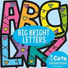 Letters For Bulletin Boards Templates Free Printable Bulletin Board Letters From The Pond