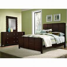 Value City Bedroom Sets Mosaic 5 Bedroom Set Brown Value City