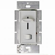 Lutron Fan And Light Switch Lutron Sfsq Lf Wh Quiet 1 5amp Ceiling Fan And Light