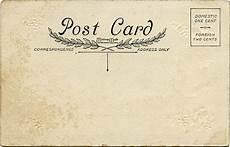 Old Postcard Template Vintage Postcard Ephemera Old Design Shop Blog