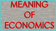 What Is A Traditional Economy Meaning Of Economics Youtube