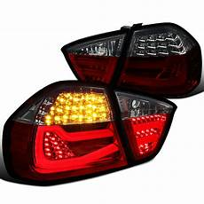 E90 Euro Lights 05 08 Bmw E90 3 Series Sedan Led Tube Lights Euro Red