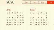Calendar 2020 For Word Calendar 2020 Youtube